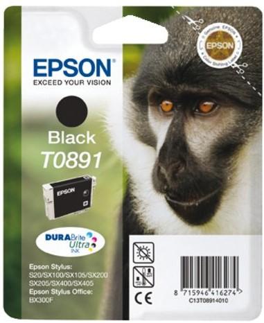 Inktcartridge Epson T0891 zwart