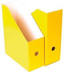 Tijdschriftcassette Nips A4 10.5cm geel