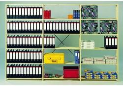 Aanbouwrek C131 met 6 legborden 100x50.2x208cm