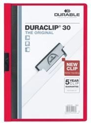 Klemmap Durable 2200 A4 3mm rood