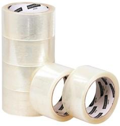Verpakkingstape Quantore 50mmx60m PP transparant