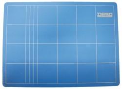 Snijmat Desq A4 220x300mm blauw