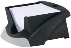 Memokubus Vegas 90x90mm zwart met 500vel