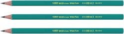 Potlood Bic Ecolution 655 HB met gummitip blister à 10 stuks