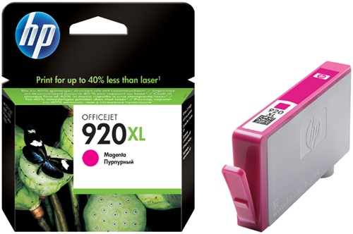 Inktcartridge HP CD973AE 920XL rood HC