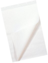 Flipoverpapier budget 65x98cm blanco/ruit 50vel 80gr