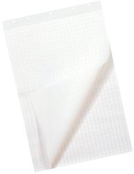 Flipoverpapier budget 72x74cm blanco/ruit 50vel 80gr