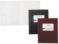 Kasboek Atlanta 2181212510 210x165mm met 2 kolommen grijs