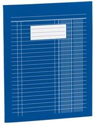 Boekhoudschrift 165x210mm kasboek met 6 kolommen 40blz