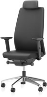 Bureaustoel Interstuhl AIM Manager Limited Leather zwart