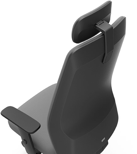 Bureaustoel Interstuhl AIM Manager Limited Leather zwart-2