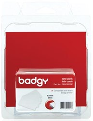 Kaart Badgy , dunne kaarten 0.5mm t.b.v. vadgy100&200 86x54