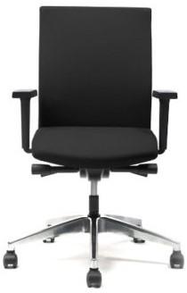 Interstuhl Prosedia Se7en 3464 bureaustoel zwart gestoffeerd- NEN EN-1335 gecertificeerd