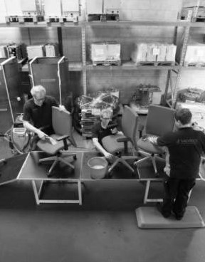 Reiniging Bureaustoelen
