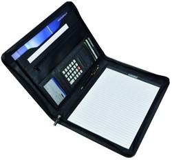 Desq A4 Conferentiemap met schrijfblok en rekenmachine