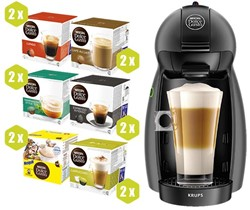 Actie Dolce Gusto: 1 x pakket koffiepads + GRATIS Dolce Gusto Piccolo
