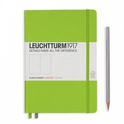 Leuchtturm1917 Notitieboek Lime - Medium - Puntjes