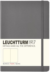 Leuchtturm1917 Notitieboek Antraciet - Medium - Blanco