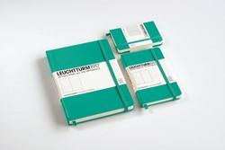 Leuchtturm1917 Notitieboek Emerald - Pocket - Puntjes