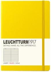 Leuchtturm1917 Notitieboek Lemon - Medium - Gelinieerd