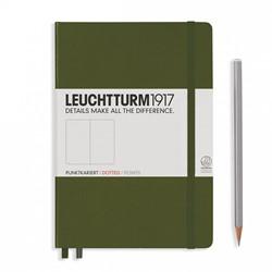 Leuchtturm1917 notitieboek medium army dotted