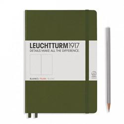 Leuchtturm1917 Notitieboek Army - Medium - Blanco