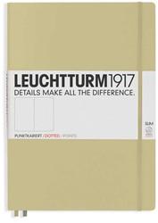 Leuchtturm1917 notitieboek master slim A4+ dotted zand