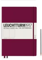 Leuchtturm1917 notitieboek master slim A4+ dotted port rood