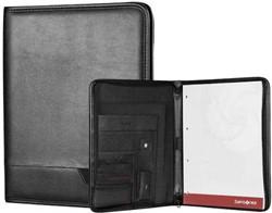 Samsonite Schrijfmap - Stationery Pro-DLX 4 Zip Folder A4 black