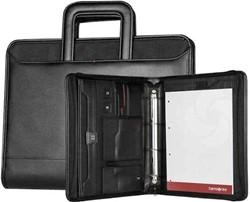 Samsonite Schrijfmap - Stationery Pro-DLX 4 Zip Folder A4 Ret H + Binder black