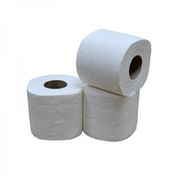 "Toiletpapier Easy4Office ""het gemak"" 2-laags, cellulose, 200 vel per rol, 48 rollen per pak"