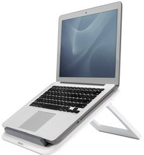 Fellowes Notebooksteunen en -armen Fellowes Quick Lift laptopstandaard, wit