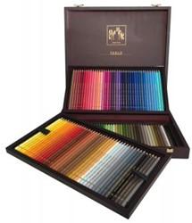 Caran d'Ache Houten box met 120 Pablo kleurpotloden