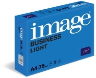 Image Business Light, wit, Kantoorpapier, houtvrij ECF, 75g/m2, 210mm x 297mm, A4, LL langlopend, pak van 500 vellen, FSC mix 70%