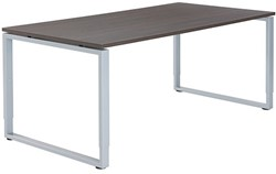 BUREAU EASY4OFFICE CARRE O-POOT 25MM MELAMINE BLAD