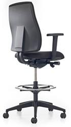 Counterstoel Prosedia Se7en Basic counter voorzien van voetenring en wielen