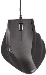 ERGO LINE - ergonomische muis, zwart