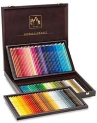 Caran d'Ache Houten box met 120 Supracolor aquarelpotloden