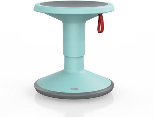 Kinderkruk Interstuhl UpIs1 ijsblauw hoogte-instelbaar, wiebelkruk geschikt vanaf 18 kilo (ca. 7 jaar)